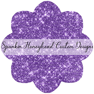 Solid Glitter - Purple Amethyst