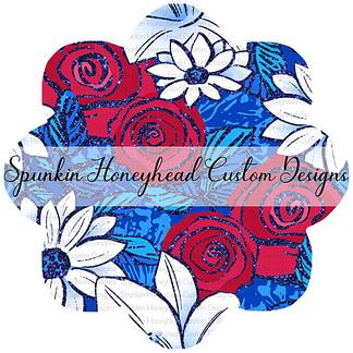 American Summer - Sparkle Floral