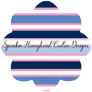 Flash Round 39 - In Deep Water - Stripes Pink