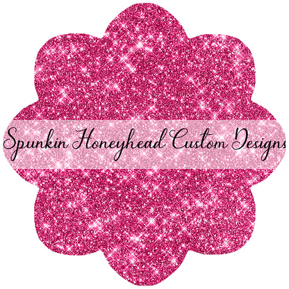Solid Glitter - Pink Spinnel