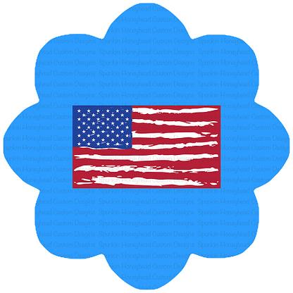 American Summer - American Flag Panel - Small