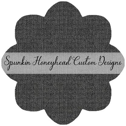 Denim Textures - Medium Black