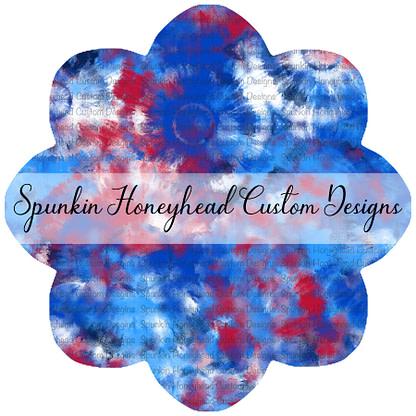 American Summer - American Watercolor Tie Dye