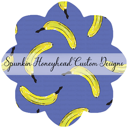 Round 40 - Funky Fruits - It's Bananas - Main on Blue