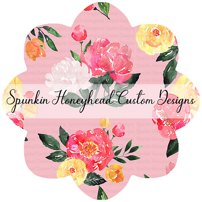 Round 40 - Summer Blooms - Peony Blooms