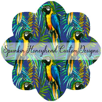 Flash Round 39 - Birds Gone Wild - Macaws Blue