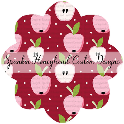 Round 42 - School Time - An Apple a Day - Apples on Red Dots