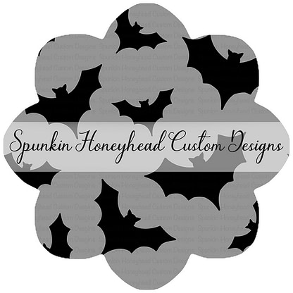 Round 43 - Tricks & Treats - Bats on Grey