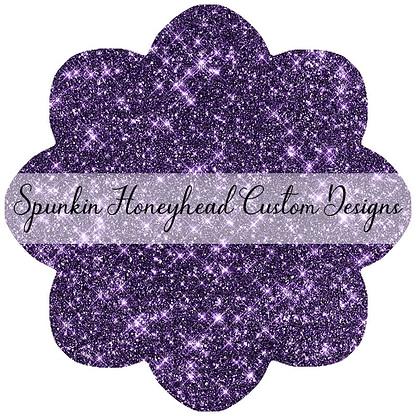 Round 43 - Tricks & Treats - Solid Glitter - Purple