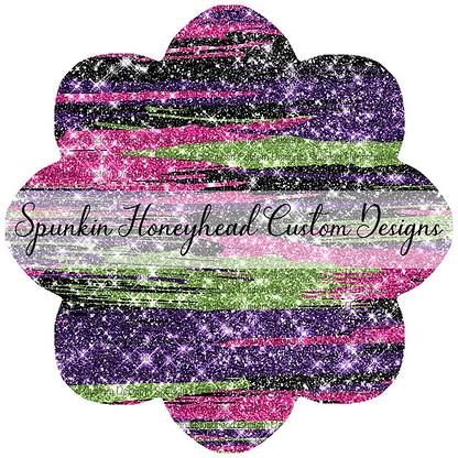 Round 43 - Tricks & Treats - Halloween Glitter Brushstrokes