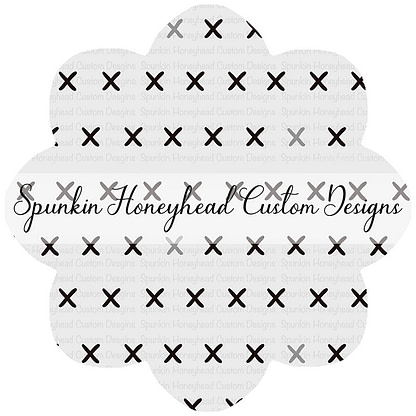 Round 43 - Tricks & Treats - X's on White