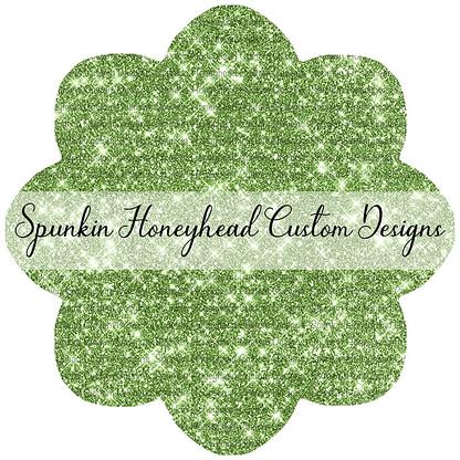 Round 43 - Tricks & Treats - Solid Glitter - Green