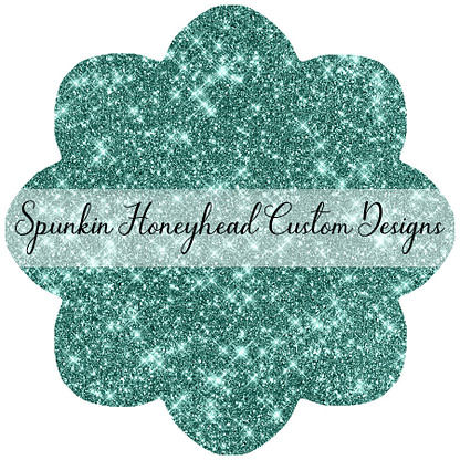 Round 45 - Whimsical Winter - Solid Glitter - Whimsey Green