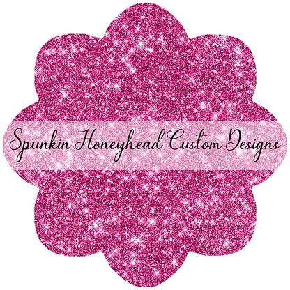 Round 43 - Tricks & Treats - Solid Glitter - Pink