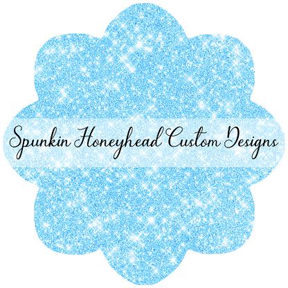 Round 45 - Winter Wonderland - Solid Glitter - Icy Blue