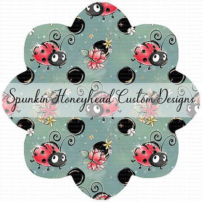 Round 44 - Flash Round - Love Bugs - Main - Garden Green