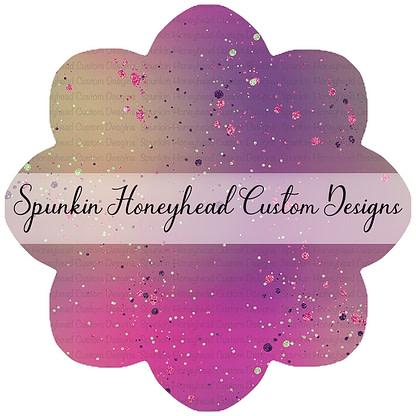 Round 43 - Tricks & Treats - Halloween Gradient with Glitter Dots