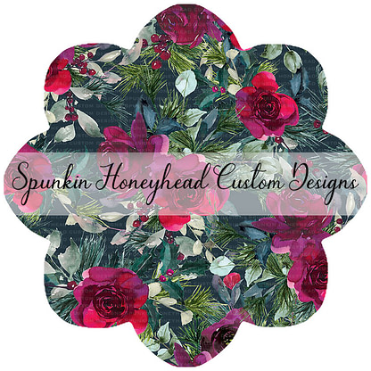 Round 45 - Holiday Florals - Floral on Spruce