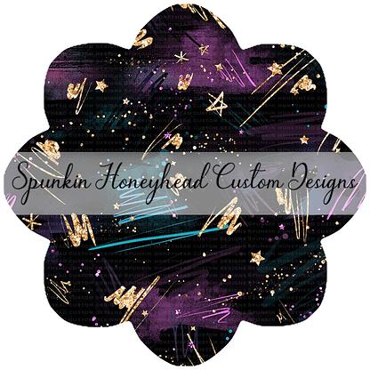 Round 46 - Mid Summer 2021 - Electric Skies - Scribbles Dark