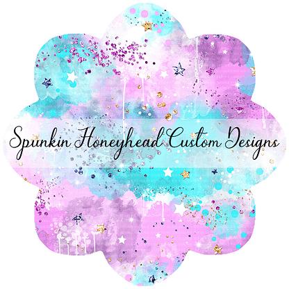 Round 46 - Mid Summer 2021 - Electric Skies - Clouds Pink/Purple/Aqua