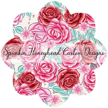 Round 47 (Flash Round) - I Heart You - Floral Valentine