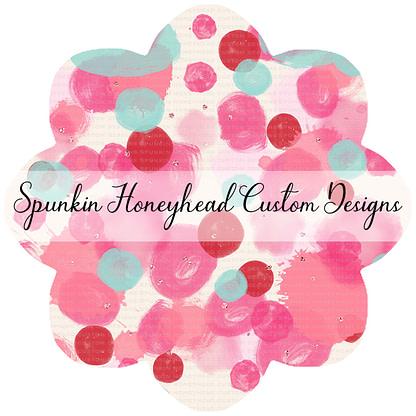 Round 47 (Flash Round) - I Heart You - Valentine Splatter
