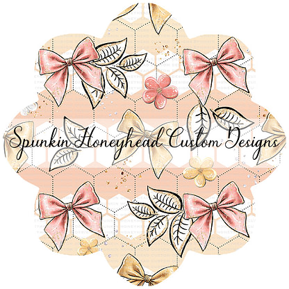 Round 48 - Spring Fling - Queen Bee - Honeycomb Bows